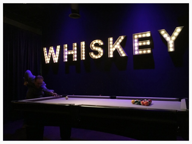 New Pool Table San Diego Whiskey Bar The Whiskey House - Brand new pool table